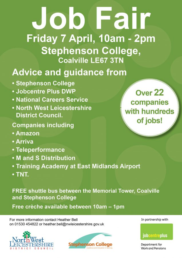 Coalville Jobs Fair
